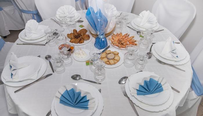 Catering para celebraciones de bautizo