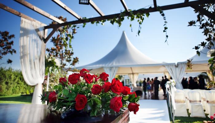 Catering de bodas en verano