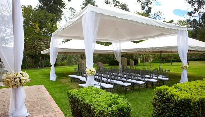 Catering para eventos en verano