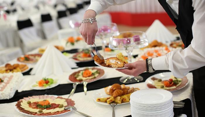 Inauguración de negocios con catering