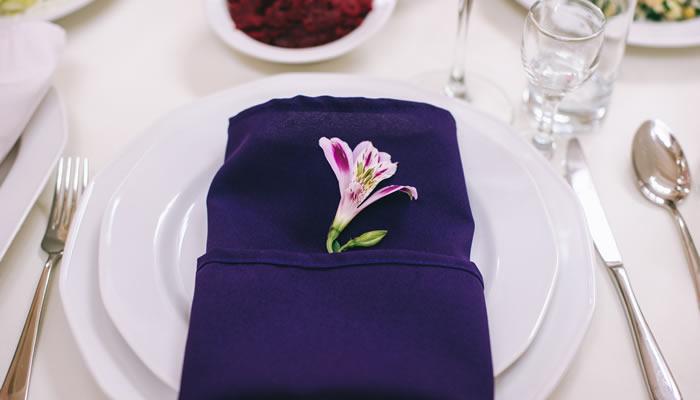 Protocolo de colocación de la mesa