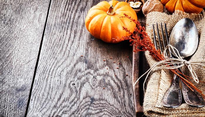 Productos tipicos de otoño en la gastronomia