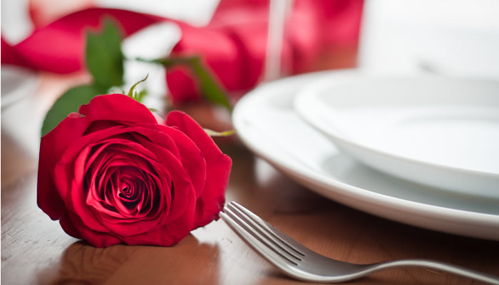 Consejos cenas romántica San Valentin