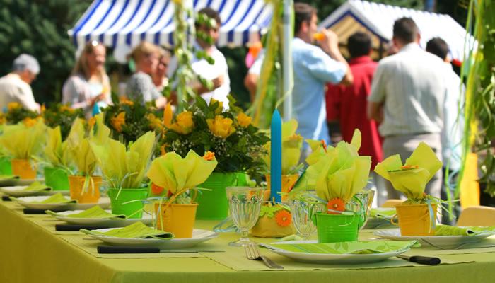 Consejos para organizar fiestas en verano