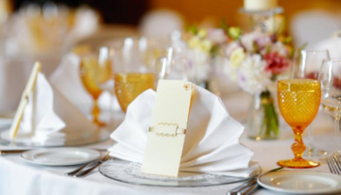 Minuta banquete boda