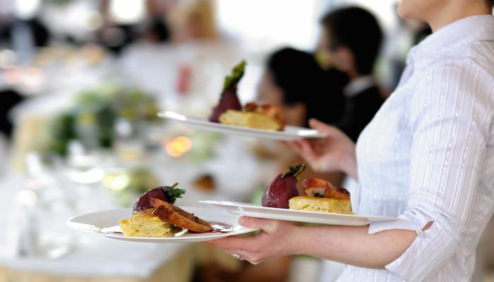 Servicios de comida según el evento