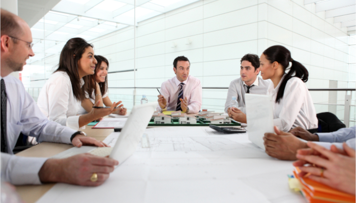 Reunión de comité directivo