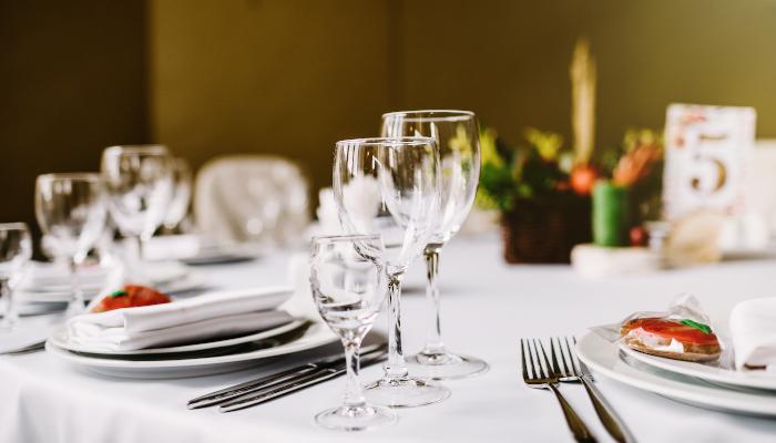 Protocolo de colocación de mesa